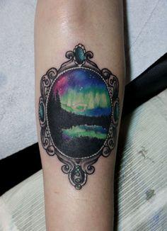4c2e5b76f5138 about Northern Lights Tattoo on Pinterest | Light tattoo Tattoos ... Tattoo  Touch Up