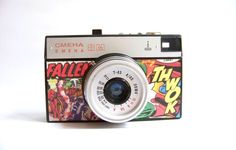 Vintage camera Smena 8M comics by Mydd on Etsy