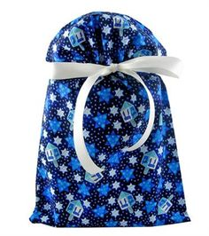 VZWraps #madeinUSA Hanukkah Eco-friendly gift wrap