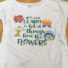 50f21a82a6 Disney World Epcot Flower and Garden Festival Shirt - Alice in Wonderland -  You can learn