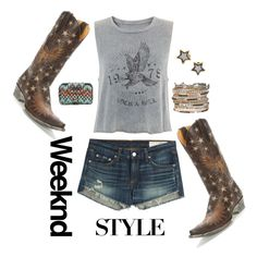Weekend Style by bootdaddy on Polyvore featuring Old Gringo boots www.pfiwestern.com