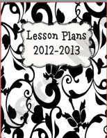 Lesson Plan Book Covers