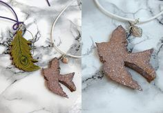 * Angel of Berlin: [DIY] Cork Necklace Pendants