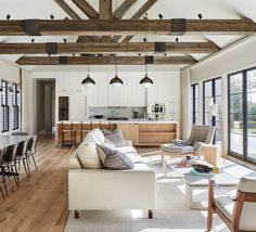 35 Where to Find House Interior Rustic Modern - homeexalt . 35 Where to Find House Interior Rustic Modern - homeexalt 35 Where to Find House Interior Rustic Modern - homeexalt Barn Style House, Interior Design Living Room, Farm House Living Room, House Design, Home And Living, Home Living Room, Interior, Rustic Interiors, House Interior