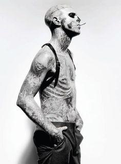 Zombie Boy, I am in love.  Rick Genest