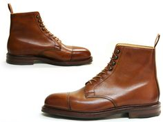Coniston Boot by Crockett and Jones, take two. Scotch-grain leather upper and danite sole.