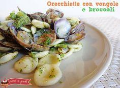 Orecchiette con vongole e broccoli