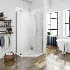 Portrayal of Amazing Corner Shower Units | Shower Cubicles ...