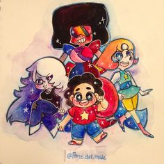 "@forze.del.male on Instagram: ""Finished!! #Homeworldgems are next!!!✌️✌️HopefullyI will have my redbubble up and running by this Monday!^^