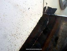 Black Pinch Welds and door