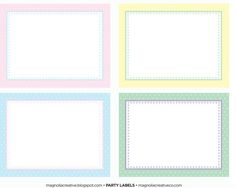 free easter party printable flat cards Magnolia Easter Collection (1) 1