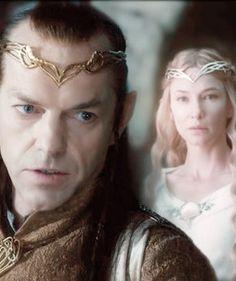 Elrond, Galadriel