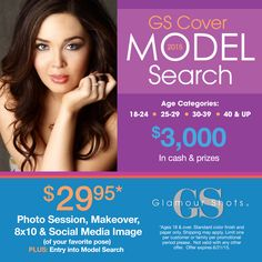 Show your confidence! Time is running out! - Glamour Shots Model Search Contest