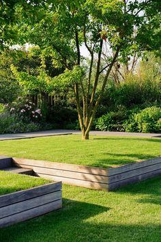 45+ Stunning Front Yard Retaining Wall Landscaping #gardening #gardendesign #gardenideas