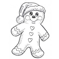 gingerbread man Colouring Pages, Coloring Pages For Kids, Coloring Sheets, Coloring Books, Adult Coloring, Christmas Images To Color, Christmas Pictures, Christmas Colors, Christmas Graphics