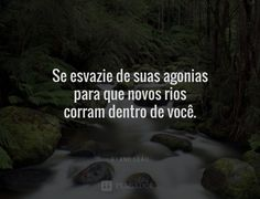 Se esvazie das suas agonias Carpe Diem, Feelings, Quotes, Life, Captions For Pictures, Powerful Quotes, Inspirational Quotes, Pretty Quotes, Profile Pics
