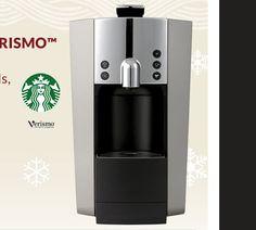 Gagnez une Cafetière Starbucks Verismo de 369$ - Quebec echantillons gratuits Cafetiere, Locker Storage, Starbucks Coffee, Free, Decor, Free Samples, Pageants, Starbox Coffee, Decorating