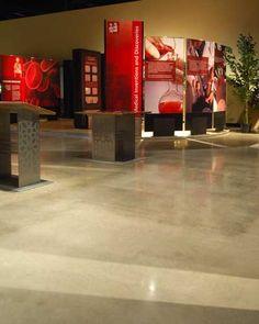 Love polished concrete floors.