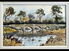 Watercolours for the beginners and advanced students.. full lessons by Alan Owen…