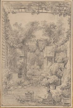"Jean Honoré Fragonard (1732-1806), ""The Draftsman"" - The Metropolitan Museum of Art ~ New York City, New York, USA"