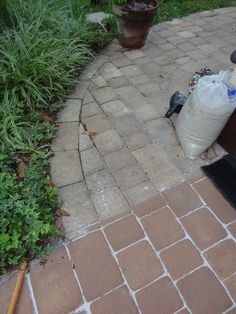 Merveilleux Stained Pavers. Behr Grotto