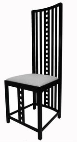 Charles Rennie Mackintosh Hill House Chairs, Set of Eight thumbnail 3