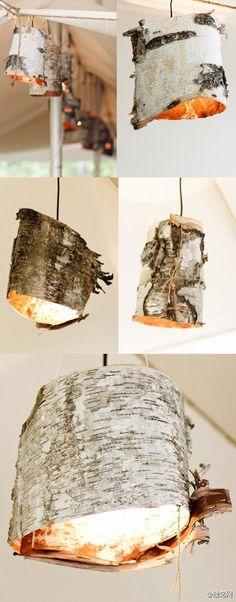 sculpture avec ecorces