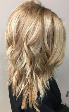 Mittellange geschichtete Frisuren 2018 - Neu Haare Frisuren 2018 Medium Length Layered Hairstyles 2017 - 2018 for Women Medium Length Hair Cuts With Layers, Thick Hair Styles Medium, Medium Hair Cuts, Long Hair Cuts, Long Hair Styles, Straight Hair, Medium Lengths, Short Layers, Choppy Layers