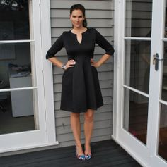 Love this dress from Leina Broughton - read more on the blog