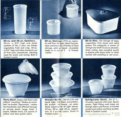 Tupperware Through the Years on Pinterest | Vintage Tupperware ...