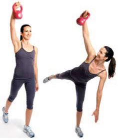 Awesome kettle bell workout