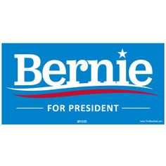 Union-Printed Bernie Sanders Bumper Stickers. Bulk discounts! What are you waiting for?! Free shipping on orders of $10 or more! #feelthebern