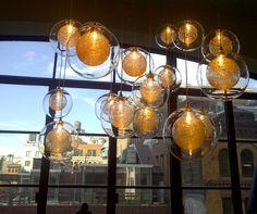 Interieurs Design Studio by Francine Gardner Lights Fantastic, Unique Lighting, Clarity, Light Bulb, Artsy, Objects, Beautiful, Studio, Design
