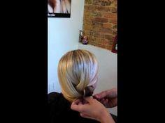Mickey Bolek|Cool Summer Braid Goes Evening Demo 2 #summer_hair_styles #mickey_bolek #how_to_braid_hair
