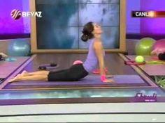 Ebru Şallı Bacak İnceltme Plates Egzersizleri - YouTube