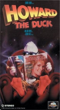 Howard the Duck ~ Lea Thompson, Jeffrey Jones, Tim Robbins Film Movie, 80s Movies, Movies Of The 80's, Great Movies, 90s Childhood, My Childhood Memories, Film Mythique, Dreamworks, Disney Pixar