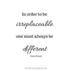 Motivation Monday: Be Different