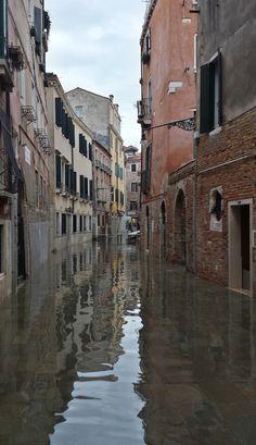 High tide in Venice