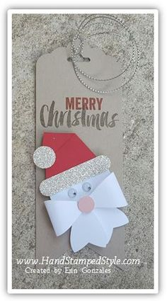 Gift Tag feat. Bow Builder Punch and Seasonal Snapshot 2015
