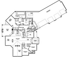 Craftsman Traditional House Plan 81190 Level One