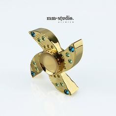 MM STUDIO NEW PRODUCT - Premium Shuriken (Ninja) Hand Spinner Fidget Toy Nothing can beat this PREMIUM Brass body Hand spinner with 24K GOLD Plated + 48 pcs SWAROVSKI Crystal! Super cool Shuriken shape design, well balanced, smooth presentation, with its brass body and 608 ceramic bearing, allows for a better weight ratio and longer spinning time. Just spin LIKE A DIAMOND in the air.  [ Product ] 24K GOLD PLATED BRASS with Swarovski Crystal Fidget Spinner / Hand Spinner / Fidget Spi...