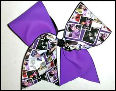 Cheer bow Justin Bieber cheer bow by Kreationz4kidzdotcom on Etsy, $13.50