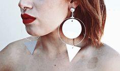 Handmade jewellery F/W 16/17  #mirrorproject #earrings #thecanvasconcept
