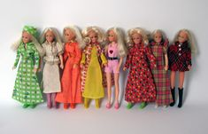 disco girls dolls by matchbox - From the 1970's