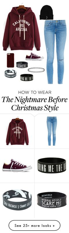 """""""~Shadow Moses~"""" by bumble-bee2003 on Polyvore featuring Frame Denim, Converse, women's clothing, women, female, woman, misses and juniors"""