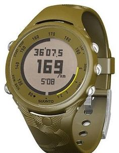 Suunto T3c Heart Rate Monitor and Fitness Trainer Watch (Deep Green)