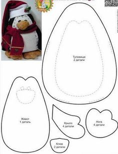Best Photos of Printable Patterns Felt Penguin - Felt Penguin Pattern, Felt Penguin Pattern and Free Felt Penguin Pattern Christmas Sewing, Christmas Projects, Christmas Diy, Felt Diy, Felt Crafts, Felt Penguin, Felt Christmas Ornaments, Felt Patterns, Sewing Toys