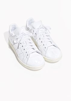 & Other Stories image 2 of adidas Stan Smith W in White