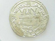 "Turkey 749 - 944, Abbasidische Califs, Dirhem Silver coin, ""Slave Money"". Diameter: 25 mm, weight: approximate 3 g. With certificate."