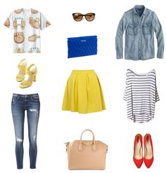 Verano My Style, Polyvore, Image, Fashion, Summer, Clothing, Moda, Fasion, Fashion Illustrations
